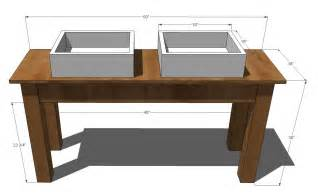 woodwork mission style vanity plans pdf plans
