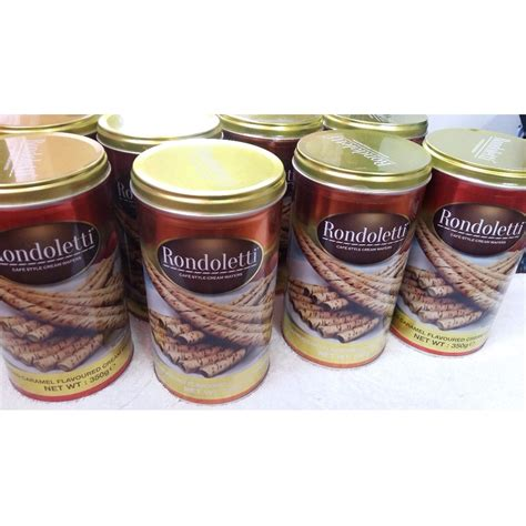 Wafer Rondoletty rondoletti cafe style wafers food drinks on carousell