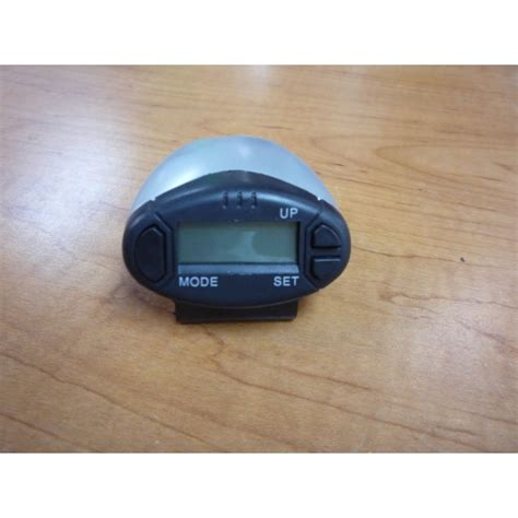 pd878 walking pedometer and alarm clock count step up to 399 999 steps mmimarine