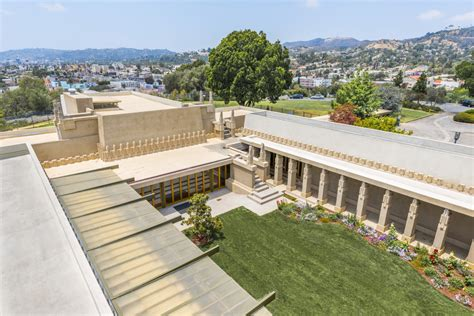 hollyhock house ten frank lloyd wright buildings nominated for unesco distinction