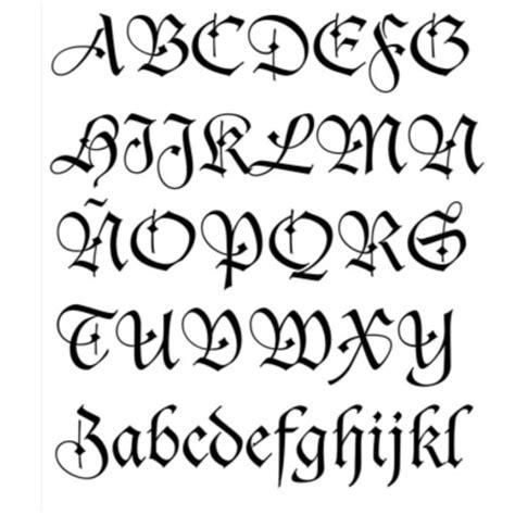 imagenes de letras geniales dibujos con letras goticas imagui