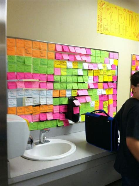 stop bullying sticky notes and bullying on