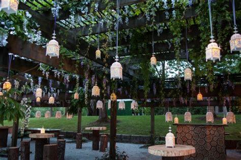 Vandusen Botanical Garden Wedding Wisteria Enchanted Garden Greenscape Design Decor