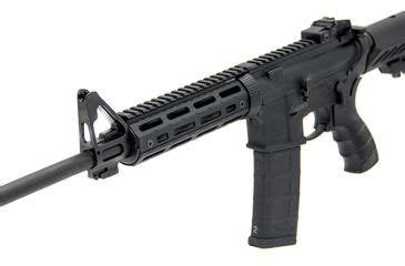 leapers ar15 super slim m lok drop in carbine length rail