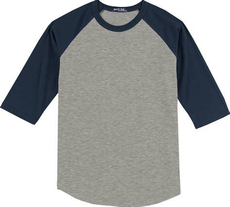 Kaos Raglan T sport tek colorblock raglan jersey baseball t shirt t200