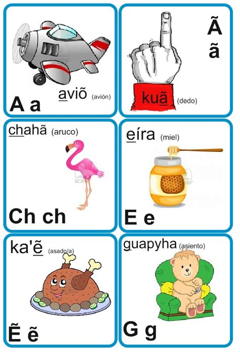 imagenes groseras en guarani el alfabeto guaran 237 ilustrado para escolares apuntes y