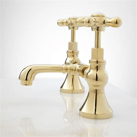 bridge bathroom faucet cross handles bathroom
