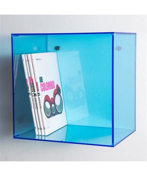 libreria plexiglass cubi in plexiglass colorato per composizione librerie