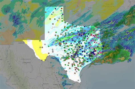 interactive map of texas interactive map of water and weather conditions in texas american geosciences institute