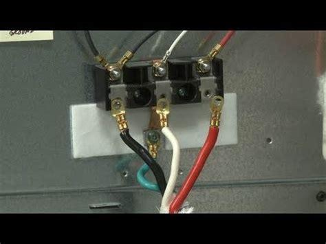 frigidaire electric rangestove terminal block
