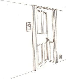 door sketch pre animation illustration layout design assignment 7 open door sketch part 1