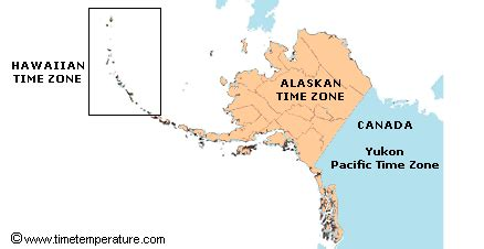 us time zone map with alaska anchorage alaska current local time and time zone