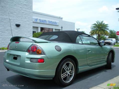 mitsubishi green 2003 alloy green pearl mitsubishi eclipse spyder gts