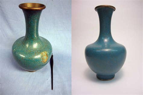 Cloisonne Vase Antique by Japanese Antique Cloisonne Vase Restoration Services