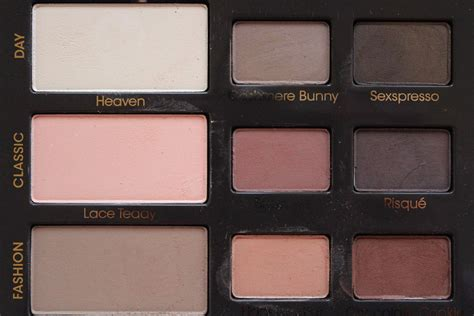 Eyeshadow Faced faced matte palette review swatches made up product reviews