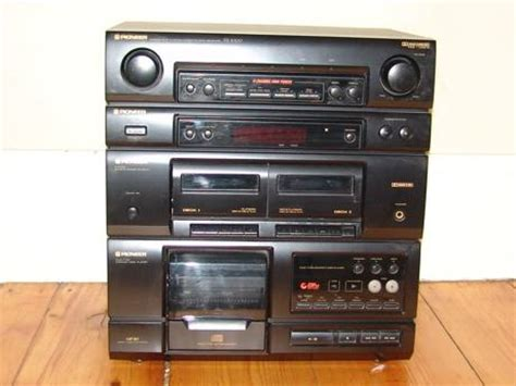 pioneer xr 3000 home stereo sysem foundvalue