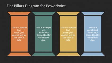 Pillars Powerpoint Templates Strategic Pillars Template