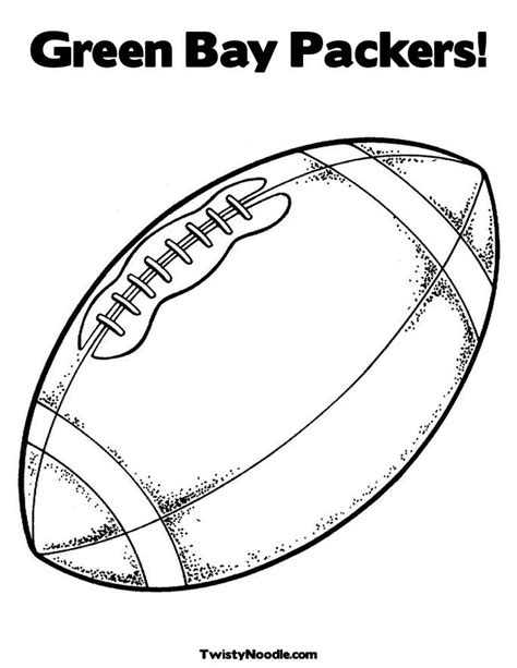 green bay packers coloring pages images
