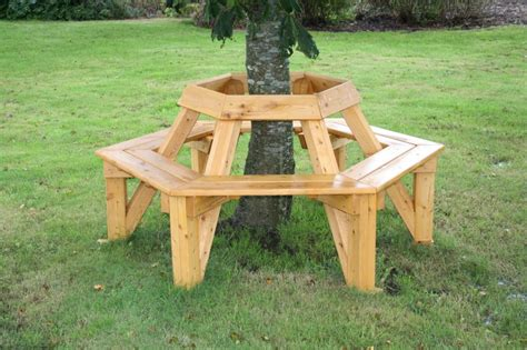 bench around a tree plans 16 diy outdoor furniture pieces beautyharmonylife