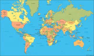 World Map With Labels by World Map A Clickable Map Of World Countries