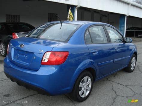 Kia Sedan 2010 Sapphire Blue 2010 Kia Lx Sedan Exterior Photo