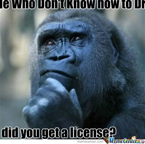 Ape Meme - the confused ape by recyclebin meme center
