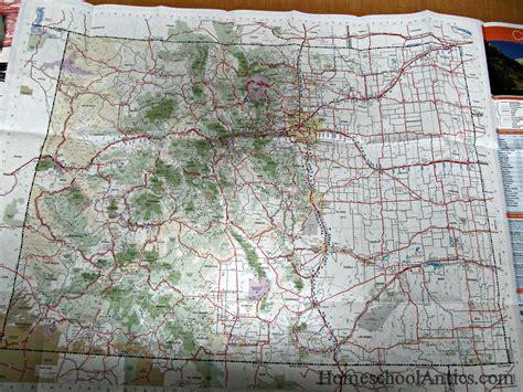 colorado mountains map unit study colorado the rocky mountains