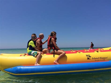 banana boat rides pcb fl family vacation to an all inclusive resort