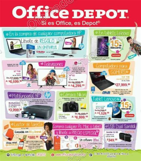 office depot coupons tablet office depot folleto mensual de promociones del 1 al 31