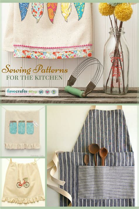 sewing ideas for home decorating sewing diy home d 233 cor crafts for your kitchen favecrafts