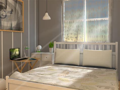 schlafzimmer klein einrichten ein kleines schlafzimmer kosteng 252 nstig einrichten wikihow