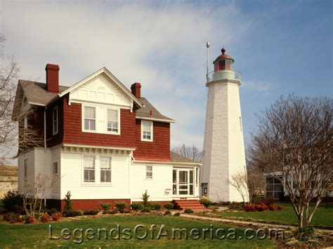 Point Comfort Lighthouse by Legends Of America Photo Prints Places Hton Va