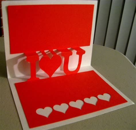 how to make a pop up valentines card pop ups with cricut design studio