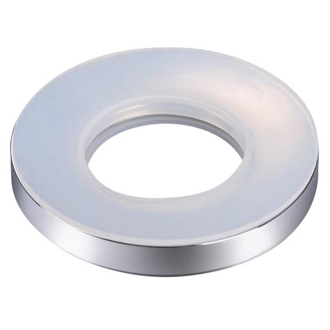 mounting a vessel mounting ring spacer for spa bathroom glass vessel