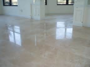 polished travertine floor tile floors