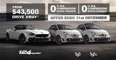 fiat 500 abarth finance deals fiat abarth finance deals easy finance perth from we are
