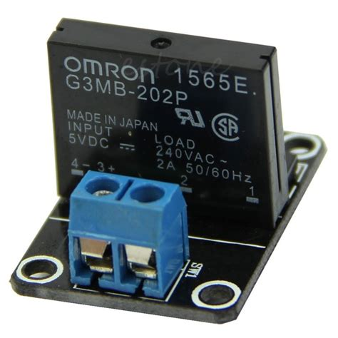 5v 1 Channel Omron Ssr High Level Solid State Relay Module 250v 2a 5v 1 channel omron ssr high level solid state relay module
