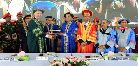 Mba Association Of Chittagong by Kakha Shengelia At Convocation Ceremony 2018 At Daffodil