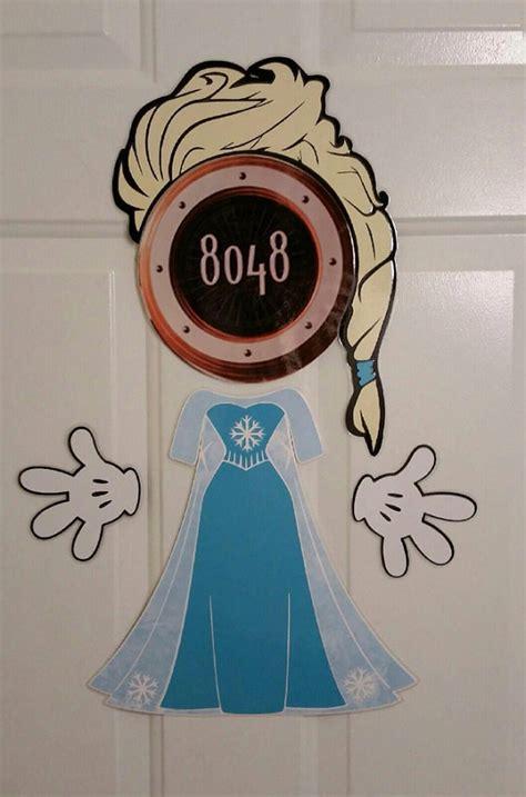 Disney Door Magnets by Elsa Version 2 Part Stateroom Door Magnets For Disney