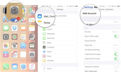 Add Gmail Calendar To Iphone How To Set Up Mail Contacts And Calendars On Iphone And