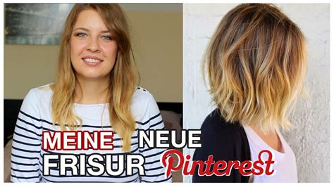 balayage blond bob haircut vorher nachher youtube
