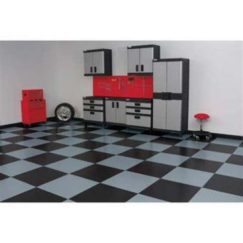 """RaceDay Peel & Stick Garage Floor Tiles   Levant   24"""""""
