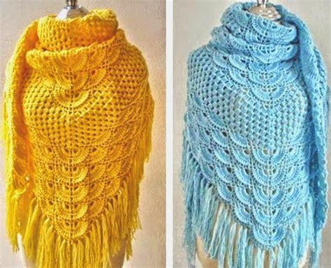 chales en crochet 3 patrones de chales crochet patrones para crochet