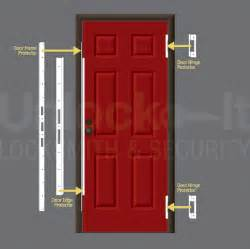 Reinforced Door security doors security door jamb reinforcement