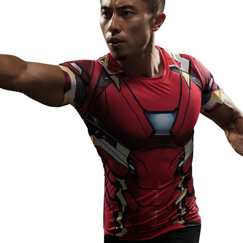 Hoodie Ironman 1 aliexpress buy iron compression shirt captain america 3d printed t shirts
