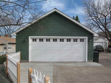 2 car detached garage ideas white door detached 2 car garage plans detached 2