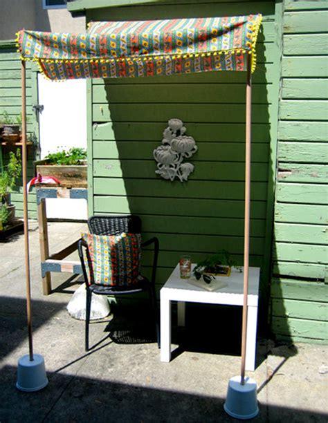 diy project: portable sun shade ? Design*Sponge