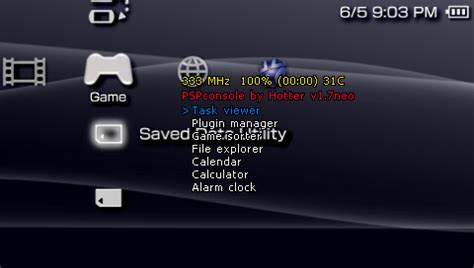 psp themes razer qwikrazor87 mods pspconsole 1 7 to work on 6 xx firmware