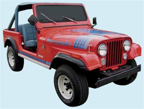 graphix 1979 80 jeep renegade decal kit