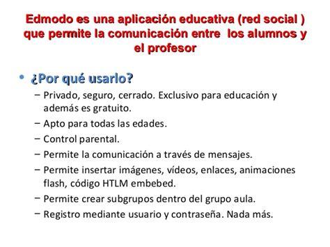 tutorial de edmodo red social para intercambiar tutorial edmodo 2013 manual para profesor